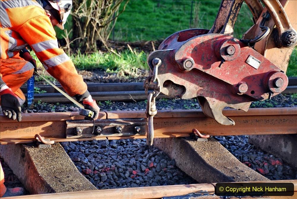 2020-01-09 Track renewal Cowpat Crossing to just beyond Dickers crossing. (32) 032
