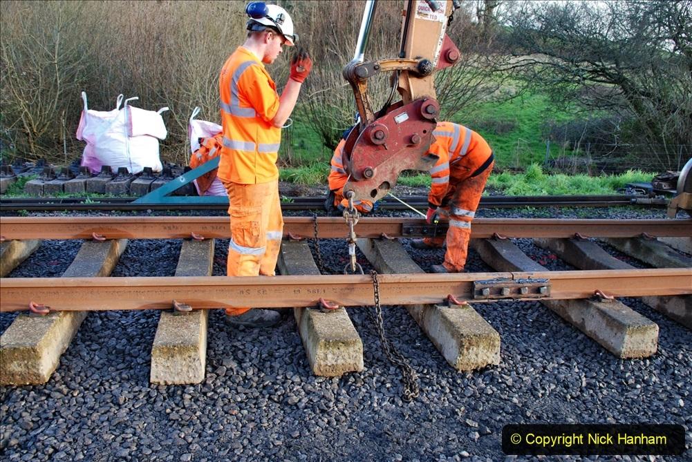 2020-01-09 Track renewal Cowpat Crossing to just beyond Dickers crossing. (33) 033