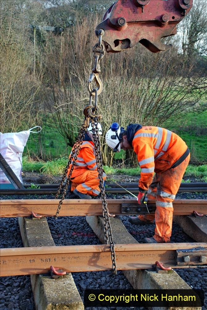 2020-01-09 Track renewal Cowpat Crossing to just beyond Dickers crossing. (35) 035