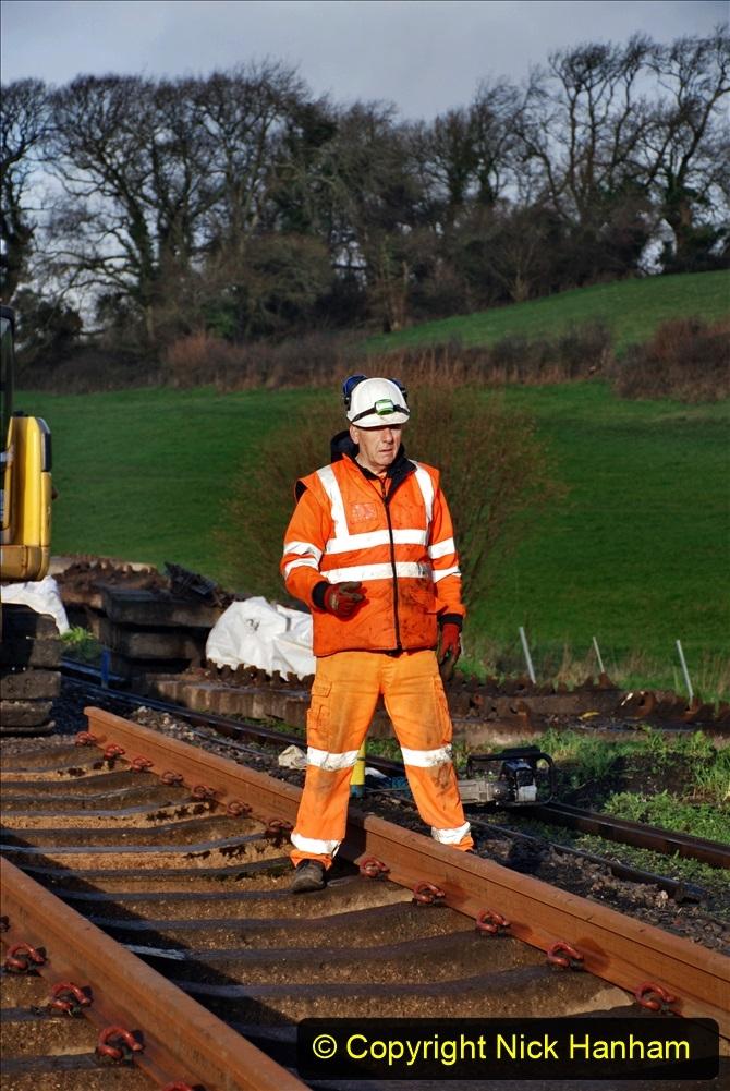 2020-01-09 Track renewal Cowpat Crossing to just beyond Dickers crossing. (36) 036