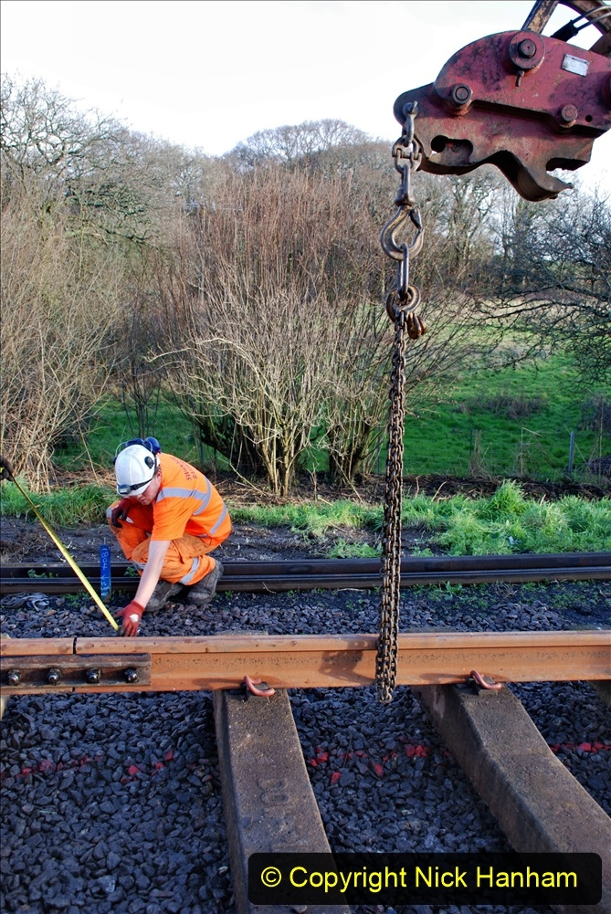2020-01-09 Track renewal Cowpat Crossing to just beyond Dickers crossing. (37) 037