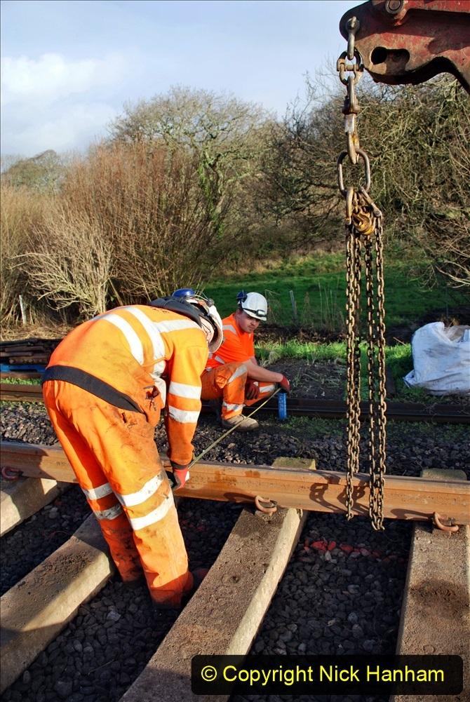 2020-01-09 Track renewal Cowpat Crossing to just beyond Dickers crossing. (40) 040