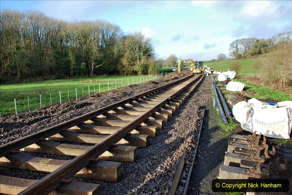 2020-01-09 Track renewal Cowpat Crossing to just beyond Dickers crossing. (41) 041