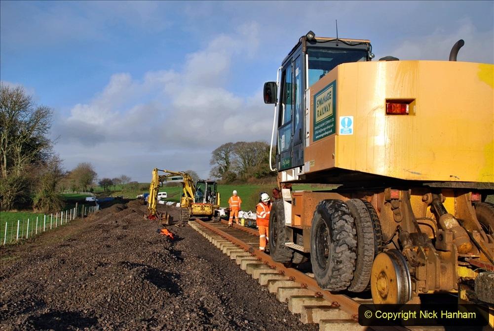 2020-01-09 Track renewal Cowpat Crossing to just beyond Dickers crossing. (42) 042