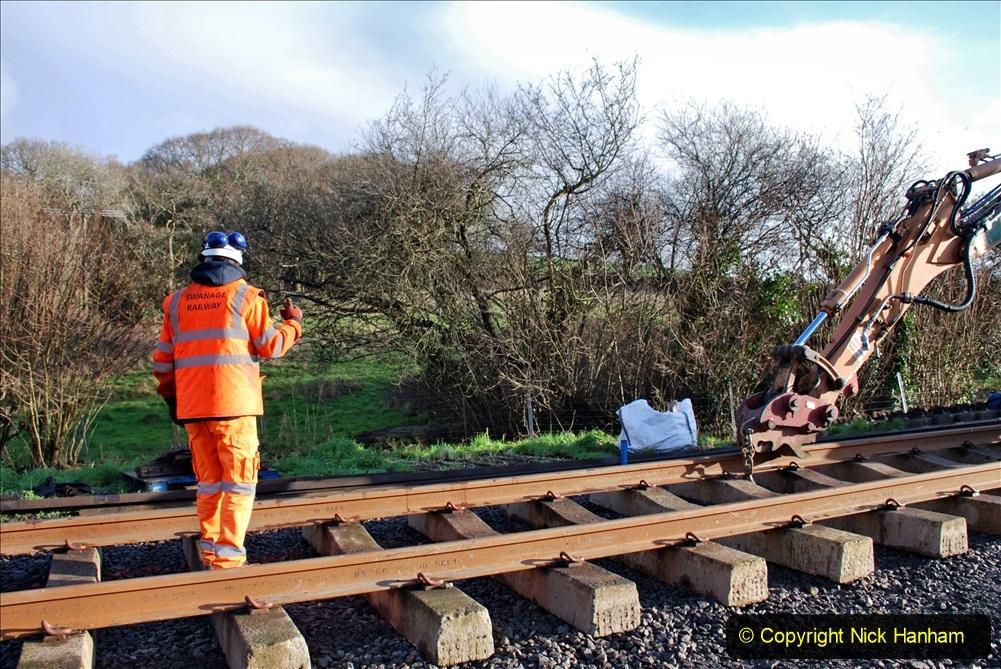2020-01-09 Track renewal Cowpat Crossing to just beyond Dickers crossing. (43) 043