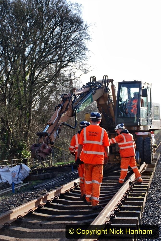 2020-01-09 Track renewal Cowpat Crossing to just beyond Dickers crossing. (44) 044