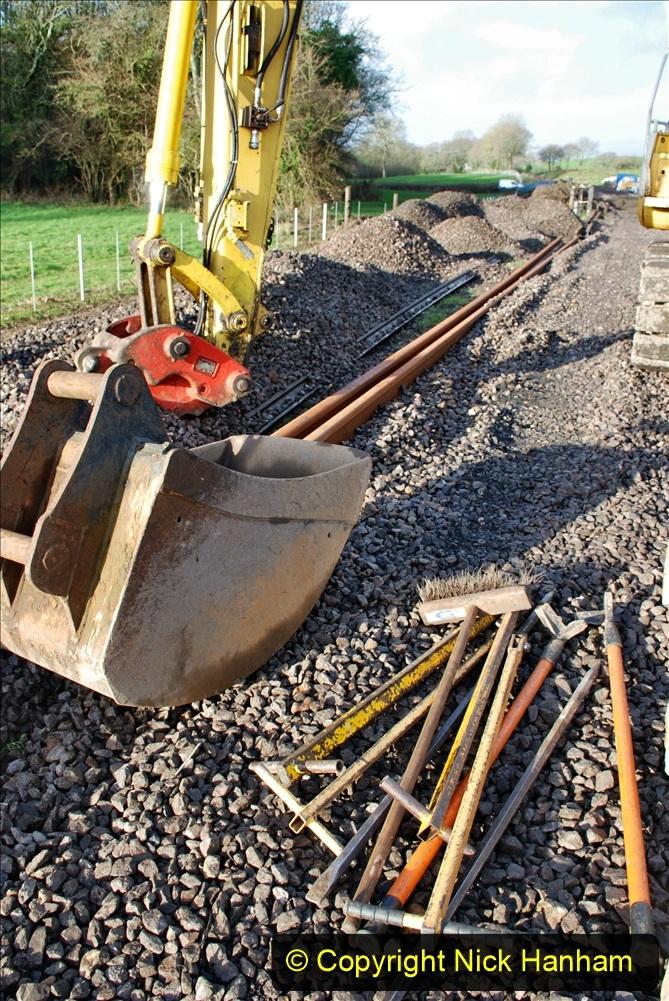 2020-01-09 Track renewal Cowpat Crossing to just beyond Dickers crossing. (45) 045