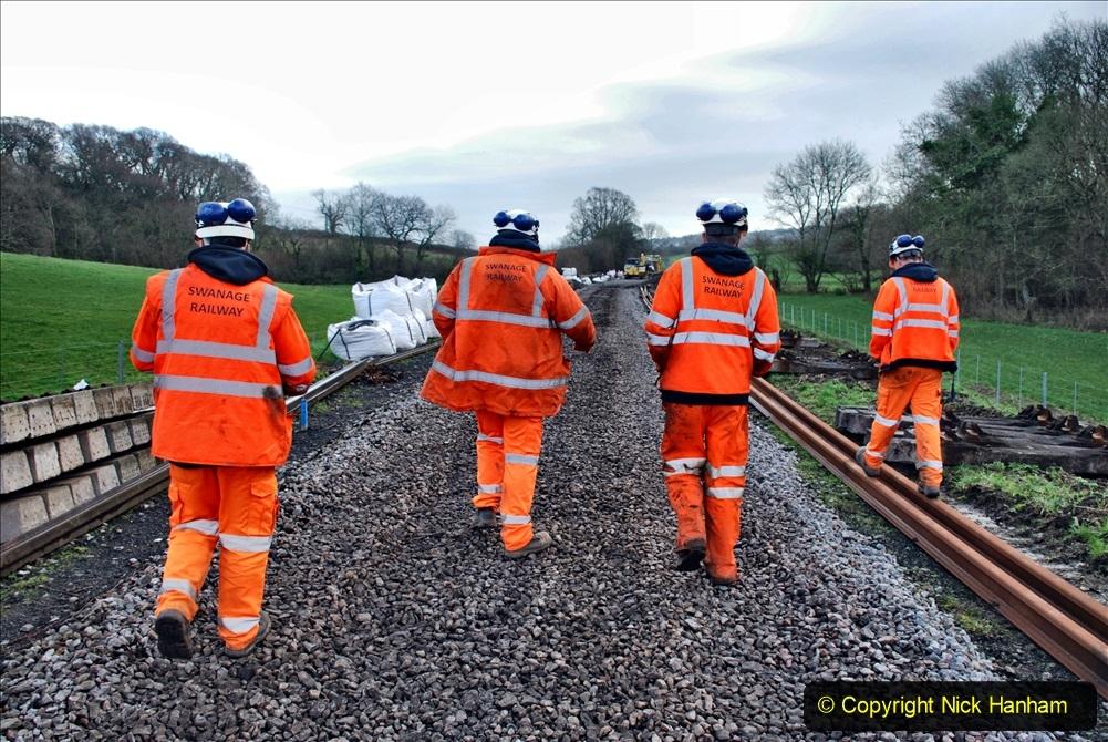 2020-01-09 Track renewal Cowpat Crossing to just beyond Dickers crossing. (48) 048