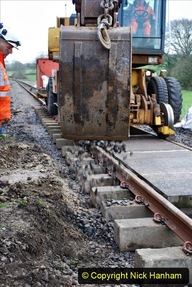 2020-01-09 Track renewal Cowpat Crossing to just beyond Dickers crossing. (52) 052
