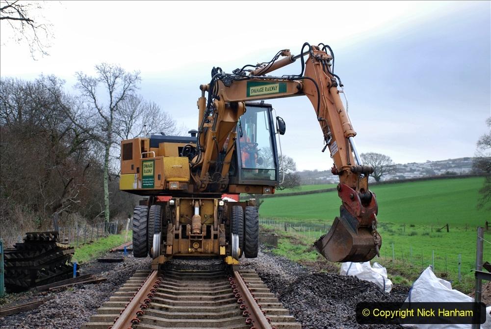 2020-01-09 Track renewal Cowpat Crossing to just beyond Dickers crossing. (53) 053