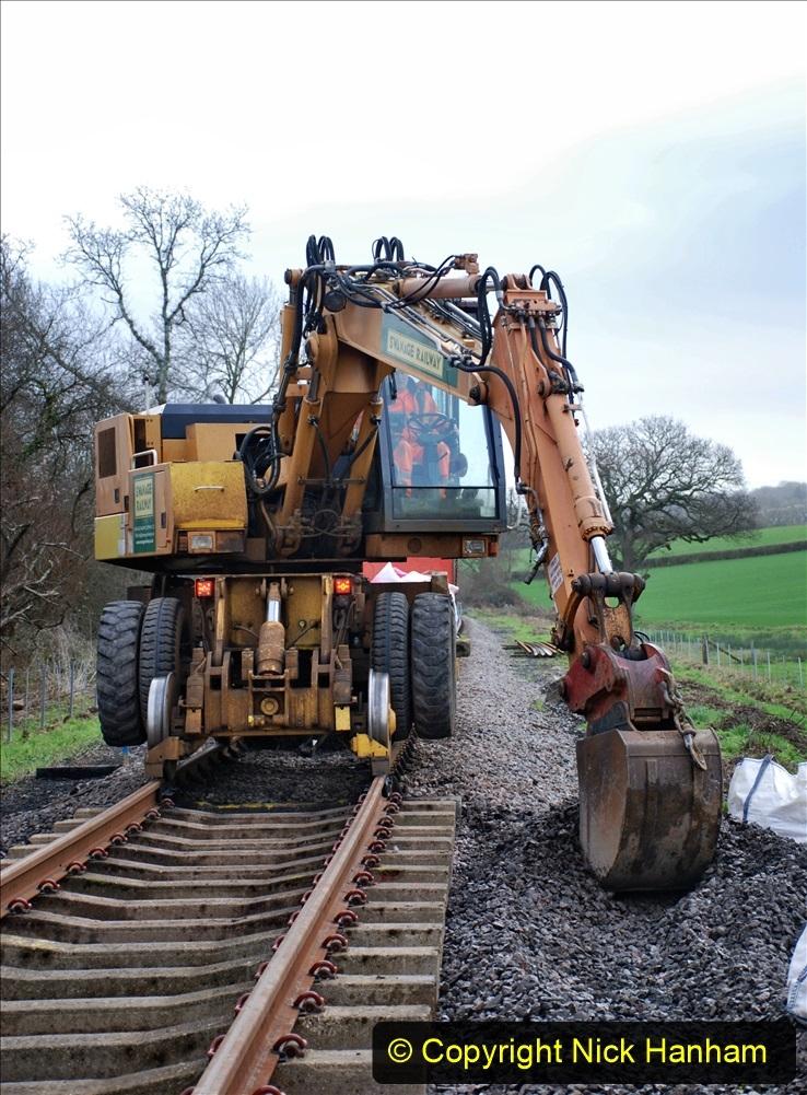 2020-01-09 Track renewal Cowpat Crossing to just beyond Dickers crossing. (54) 054