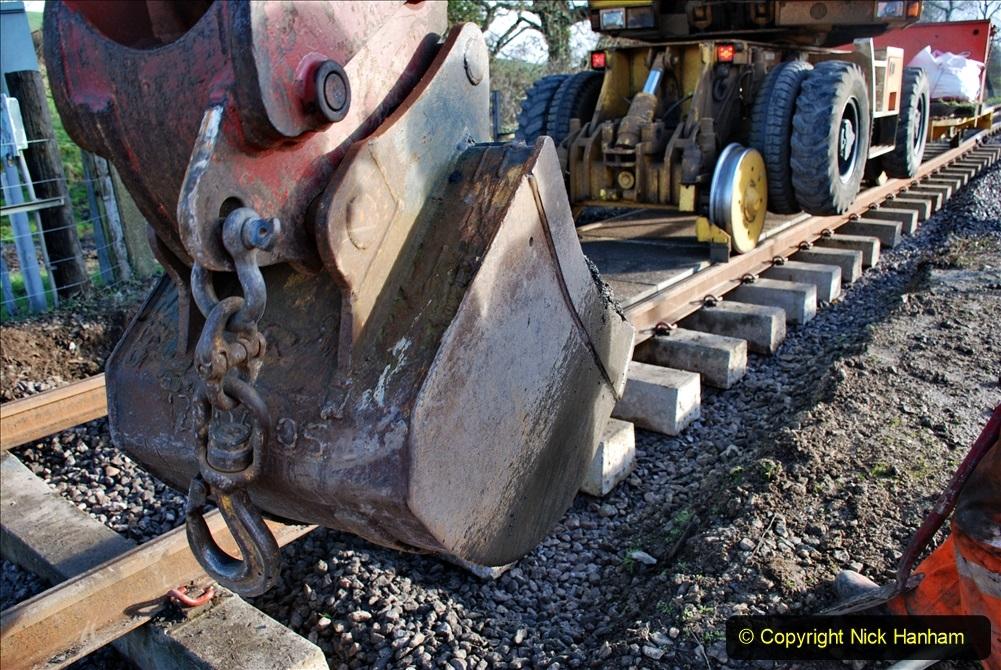2020-01-09 Track renewal Cowpat Crossing to just beyond Dickers crossing. (58) 058