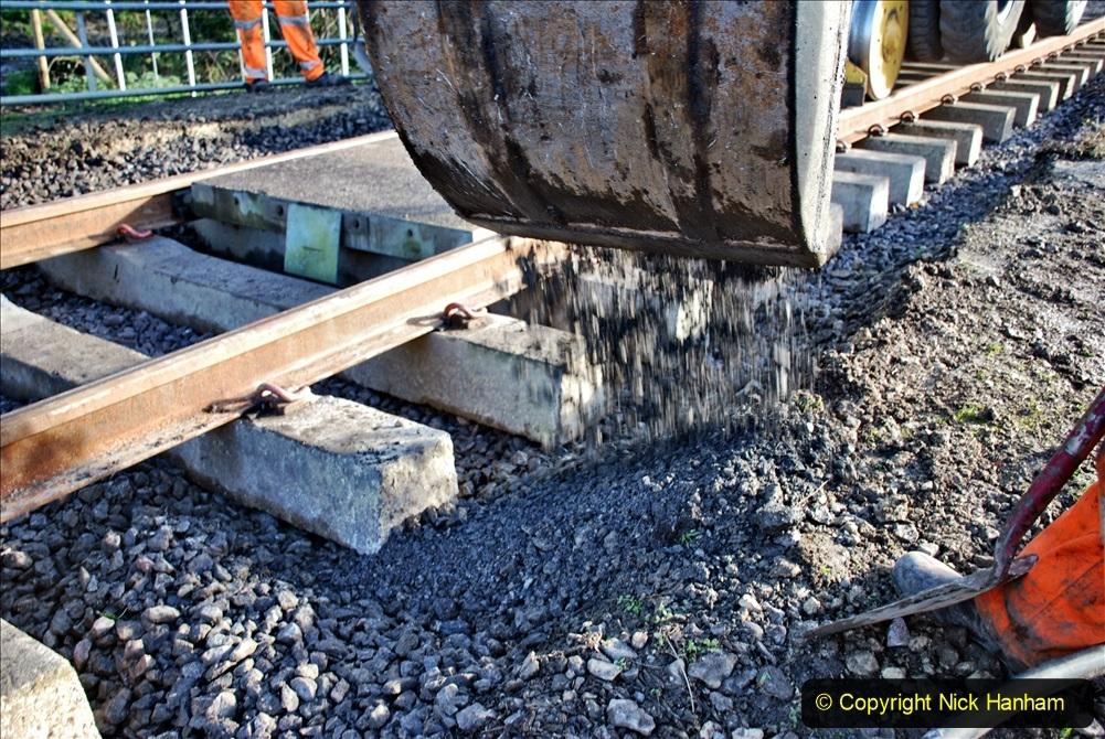 2020-01-09 Track renewal Cowpat Crossing to just beyond Dickers crossing. (59) 059