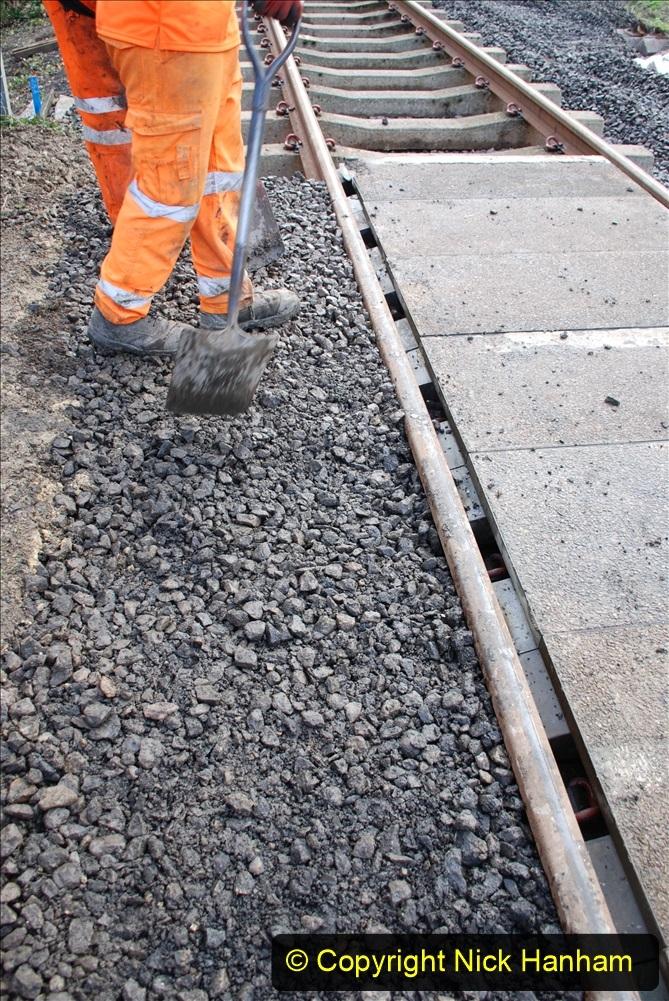 2020-01-09 Track renewal Cowpat Crossing to just beyond Dickers crossing. (62) 062