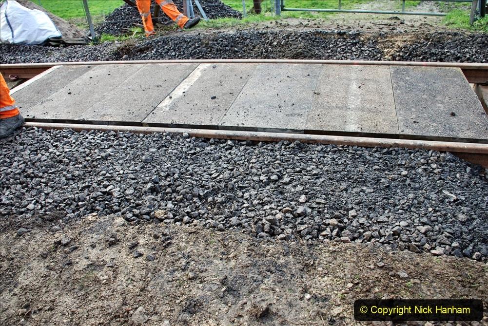 2020-01-09 Track renewal Cowpat Crossing to just beyond Dickers crossing. (63) 063