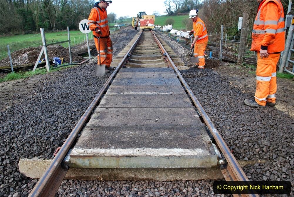 2020-01-09 Track renewal Cowpat Crossing to just beyond Dickers crossing. (73) 073