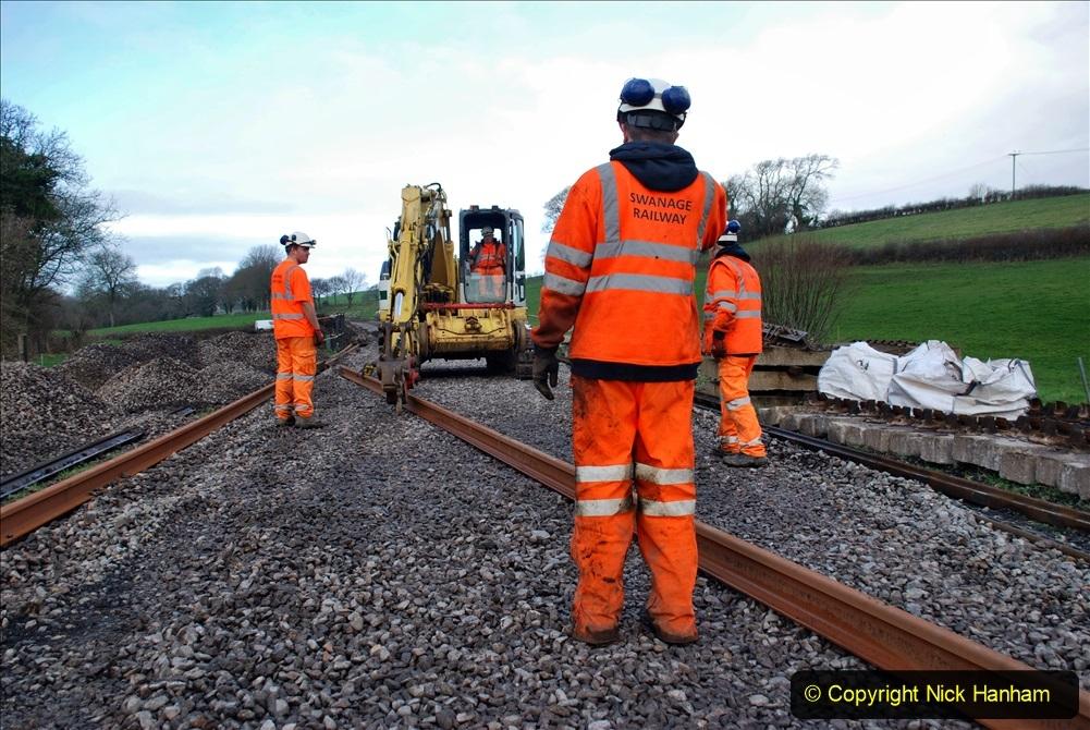 2020-01-09 Track renewal Cowpat Crossing to just beyond Dickers crossing. (78) 078