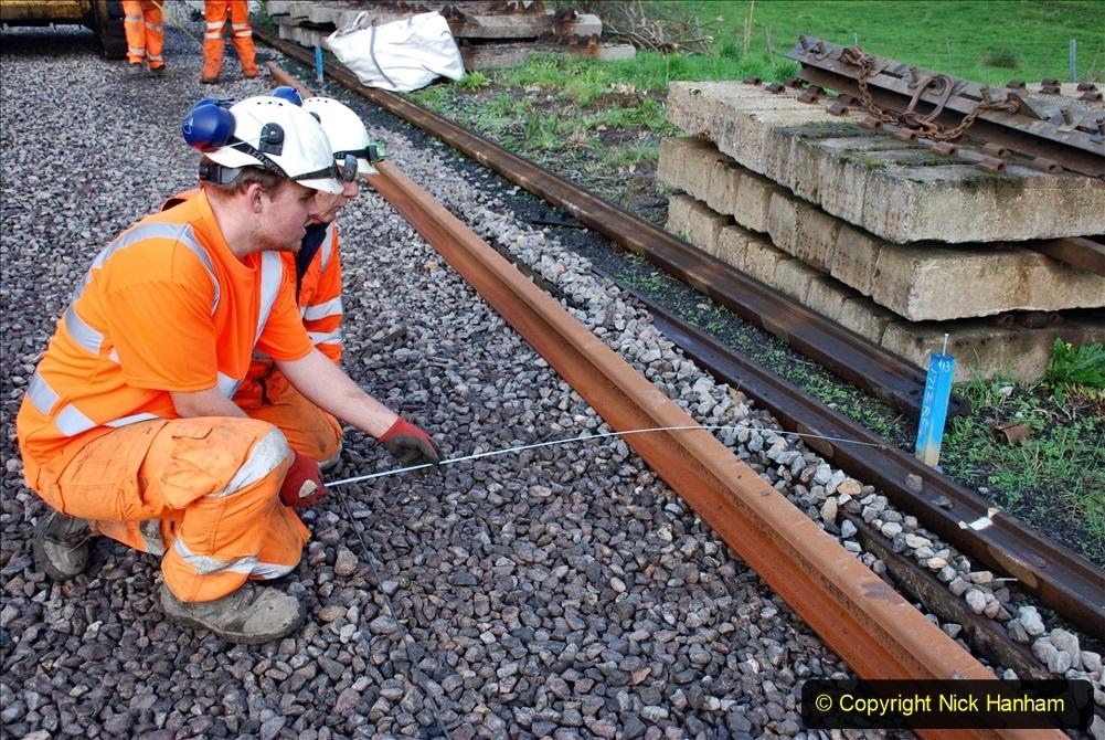 2020-01-09 Track renewal Cowpat Crossing to just beyond Dickers crossing. (84) 084