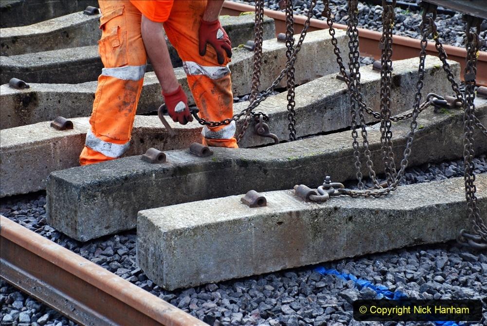 2020-01-09 Track renewal Cowpat Crossing to just beyond Dickers crossing. (93) 093