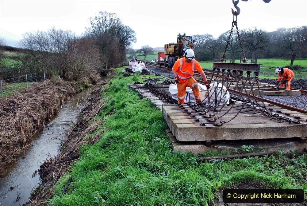 2020-01-09 Track renewal Cowpat Crossing to just beyond Dickers crossing. (94) 094