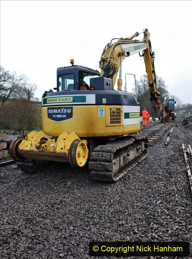 2020-01-09 Track renewal Cowpat Crossing to just beyond Dickers crossing. (109) 109