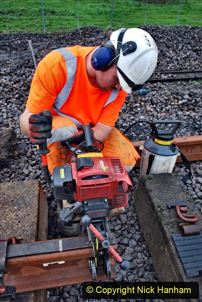 2020-01-09 Track renewal Cowpat Crossing to just beyond Dickers crossing. (114) 114