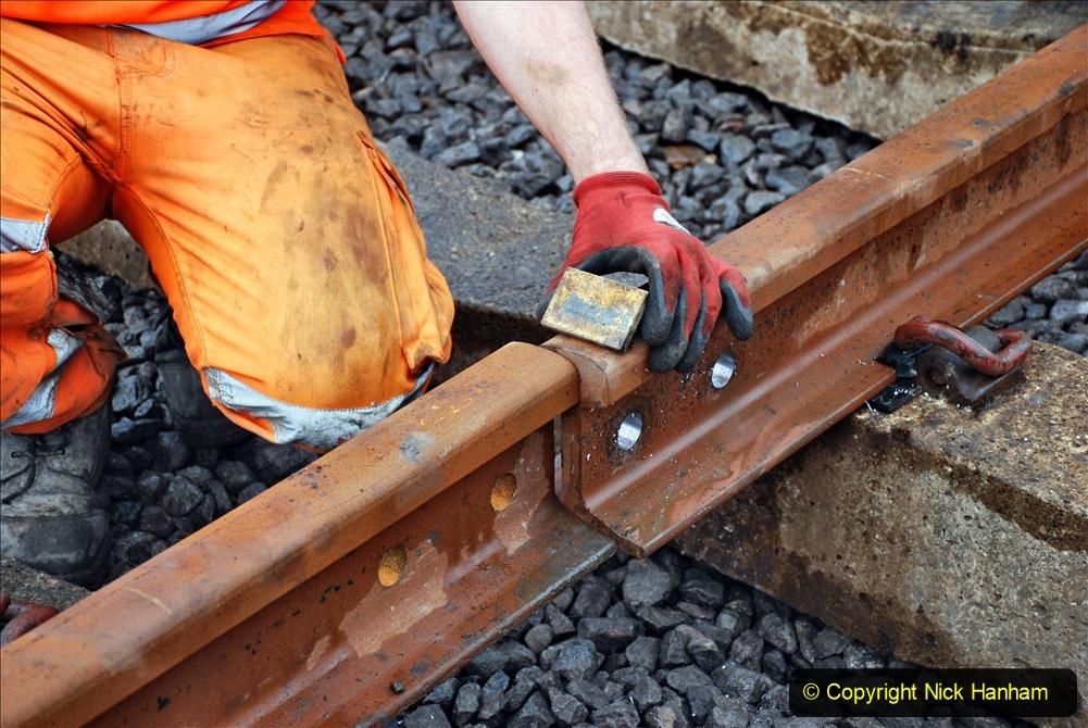 2020-01-09 Track renewal Cowpat Crossing to just beyond Dickers crossing. (125) 125