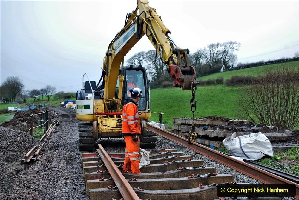2020-01-09 Track renewal Cowpat Crossing to just beyond Dickers crossing. (126) 126