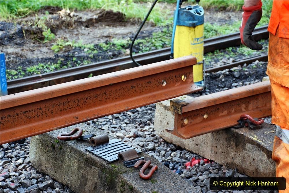 2020-01-09 Track renewal Cowpat Crossing to just beyond Dickers crossing. (127) 127