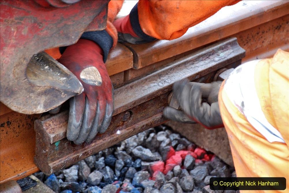 2020-01-09 Track renewal Cowpat Crossing to just beyond Dickers crossing. (134) 134