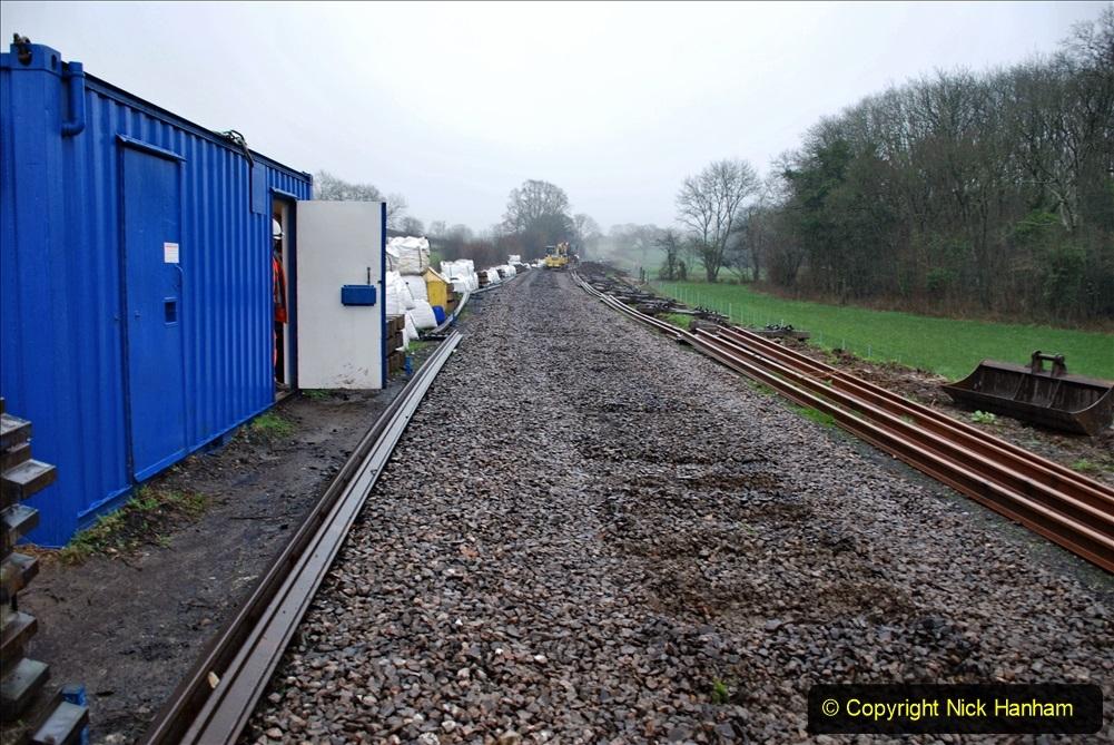 2020-01-09 Track renewal Cowpat Crossing to just beyond Dickers crossing. (144) 144
