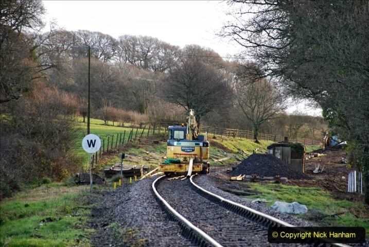 2020-01-17 Track renewal Cowpat Crossing to just past Dickers Crossing. (9) Drainage Work. 9