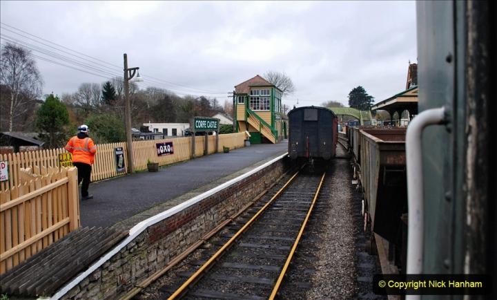2020-01-24 Track renewall Cowpat Crossing to just past Dickers Crossing. (101) Ballast work. 101