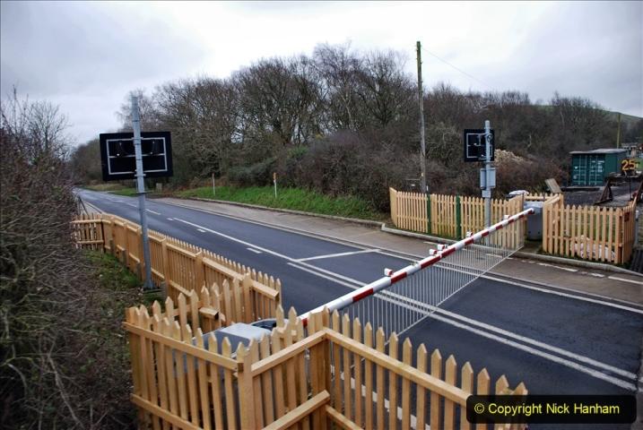 2020-01-24 Track renewall Cowpat Crossing to just past Dickers Crossing. (126) Ballast work. 126