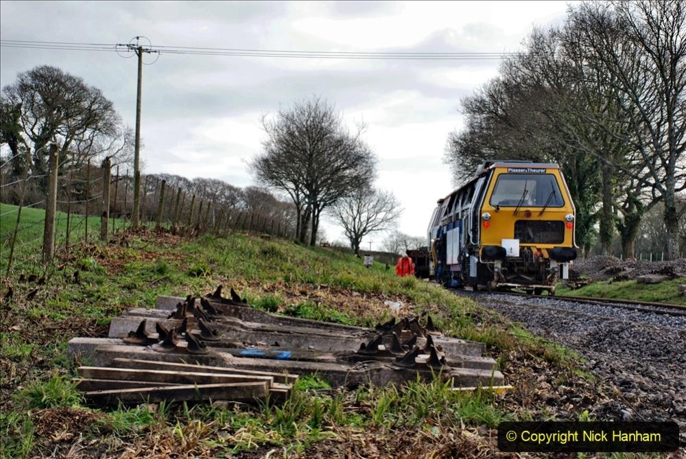2020-02-06 Track renewal work & Tamper. (124) 124