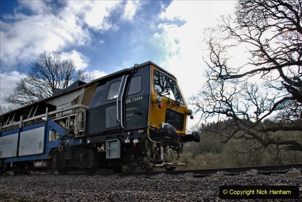 2020-02-06 Track renewal work & Tamper. (131) 131