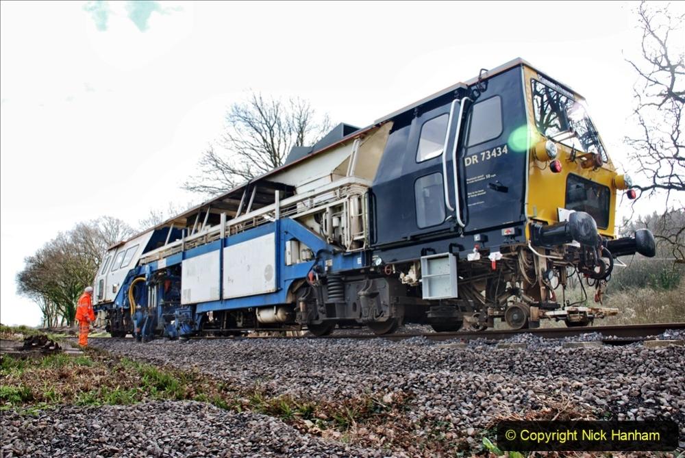 2020-02-06 Track renewal work & Tamper. (132) 132