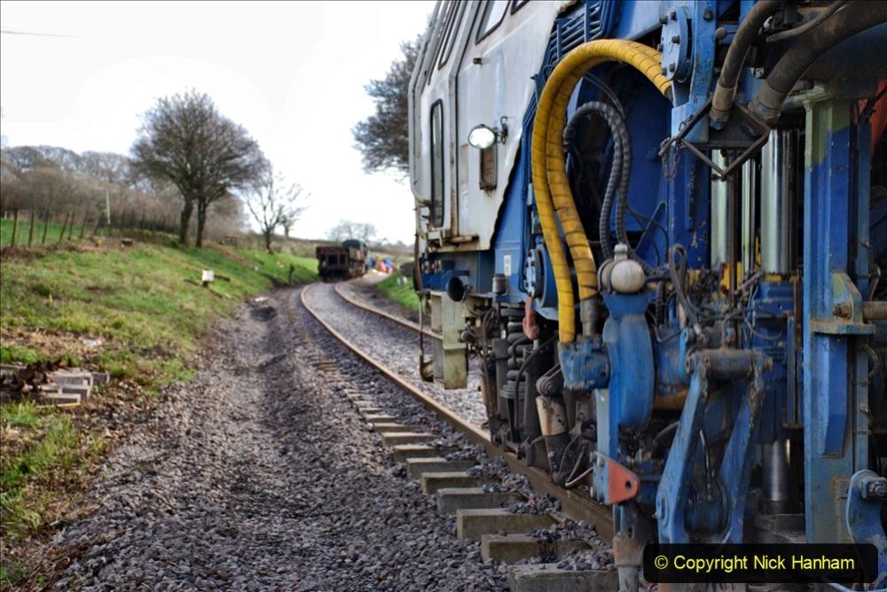 2020-02-06 Track renewal work & Tamper. (135) 135