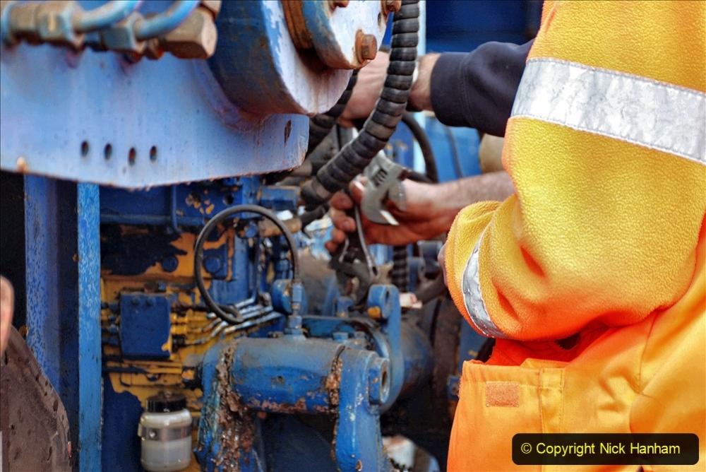 2020-02-06 Track renewal work & Tamper. (142) Running repairs. 142