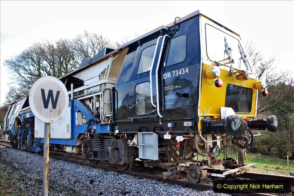 2020-02-06 Track renewal work & Tamper. (153) 153