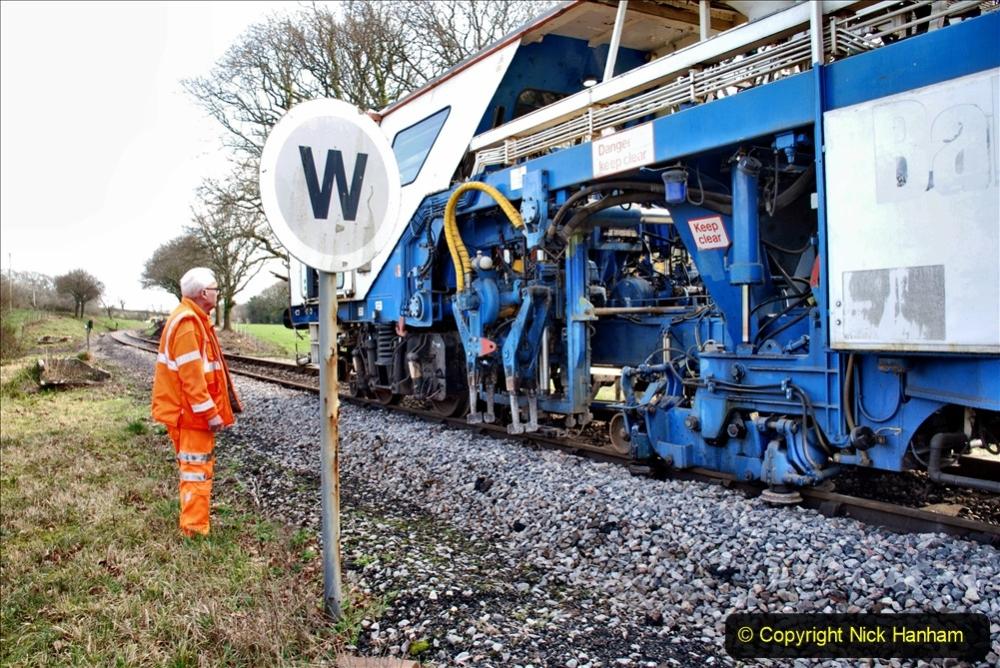 2020-02-06 Track renewal work & Tamper. (154) 154