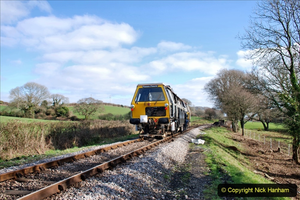 2020-02-06 Track renewal work & Tamper. (156) 156