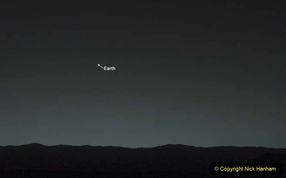 Astronomy Number 4. (223) Earth from Mars.223