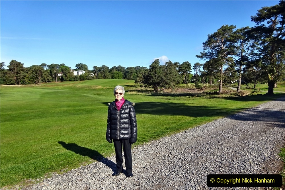 2020-05-04 Covid 19 walk Parkstone Golf Club Poole, Dorset.  (42) 042