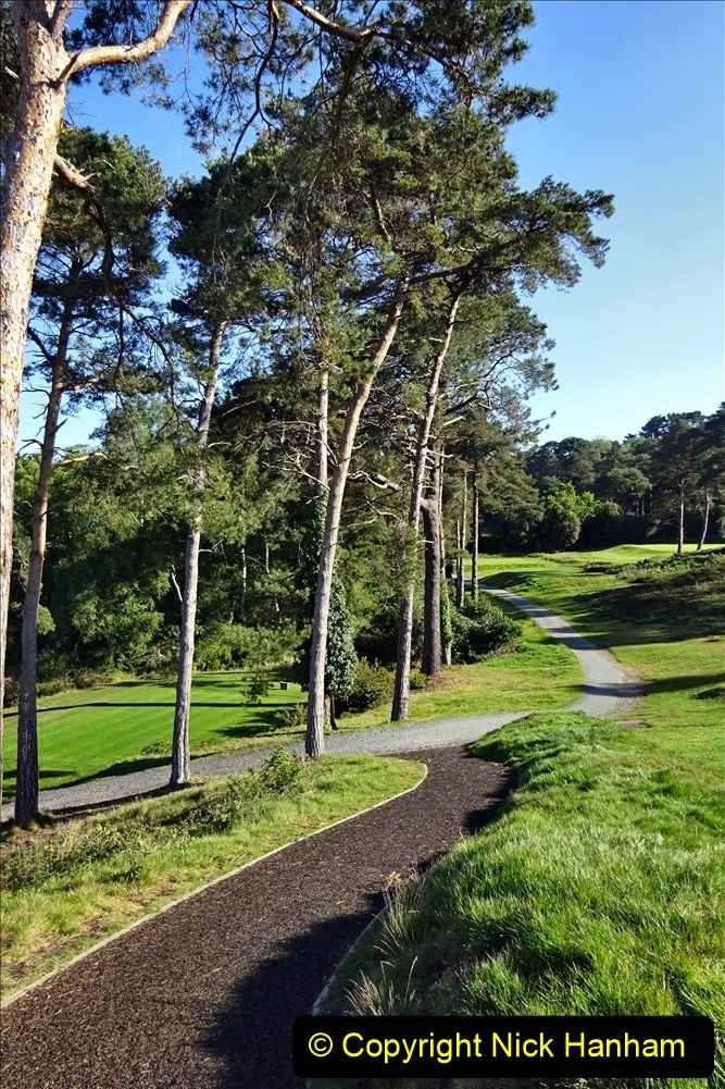2020-05-04 Covid 19 walk Parkstone Golf Club Poole, Dorset.  (48) 048