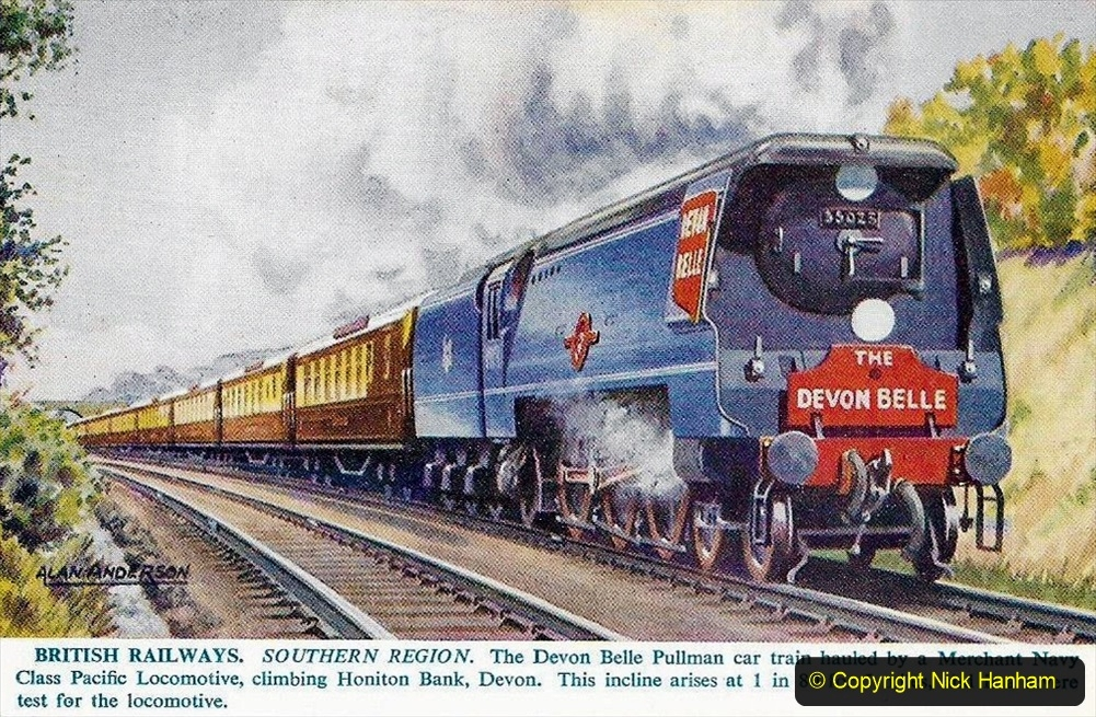 Railway Food. (102) The Devon Belle. 102