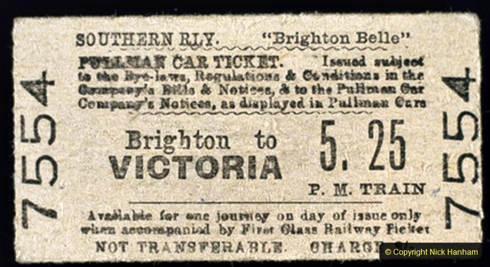 Railway Food. (125) The Brighton Belle. 125