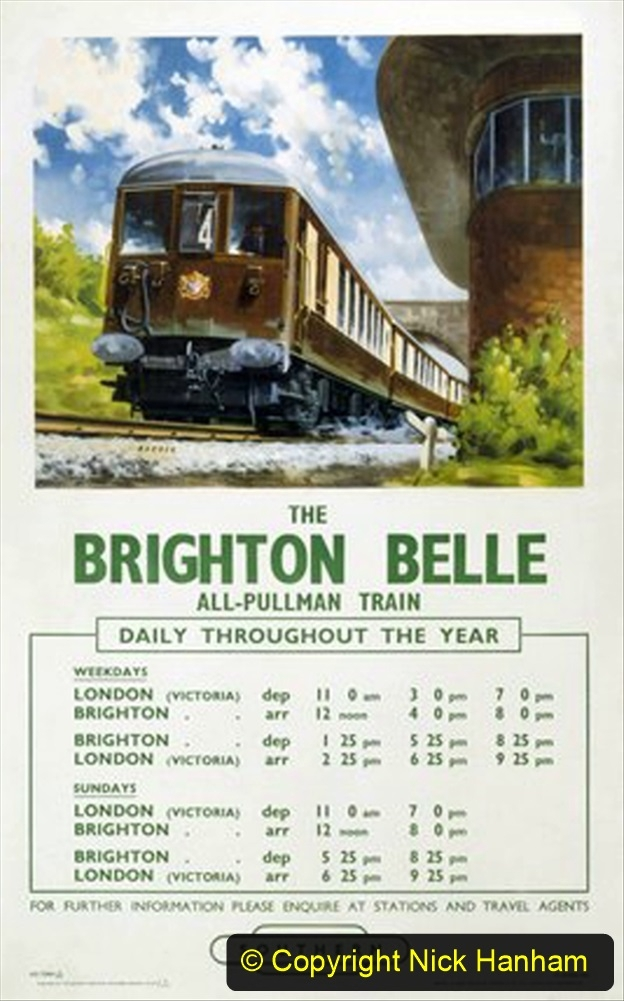 Railway Food. (137) The Brighton Belle. 137