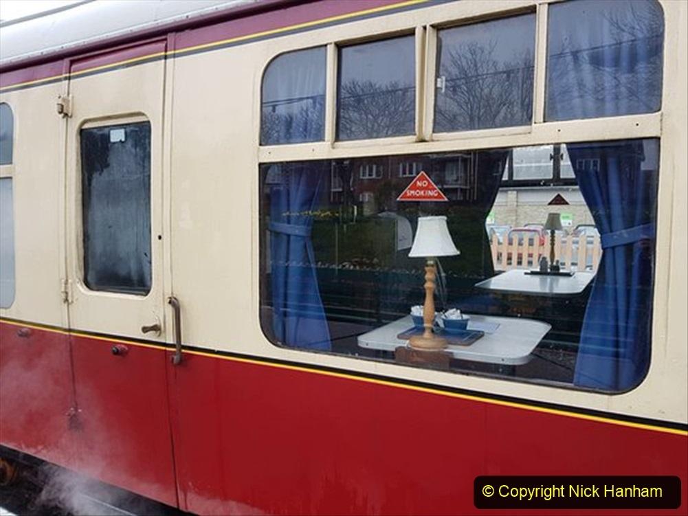 Railway Food. (176) The Wessex Belle Swanage Railway. 176