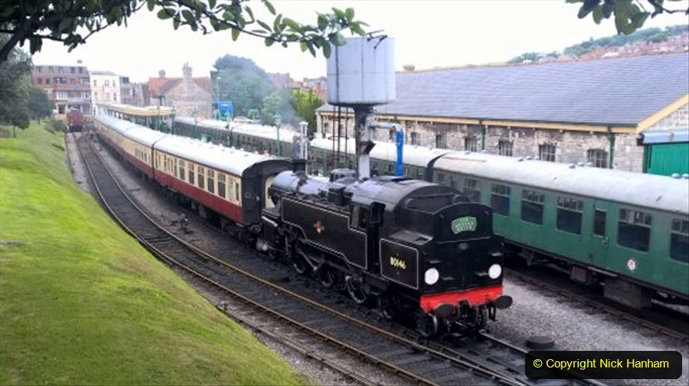 Railway Food. (186) The Wessex Belle Swanage Railway. 186